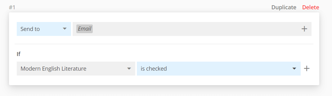 booking system notifications setup