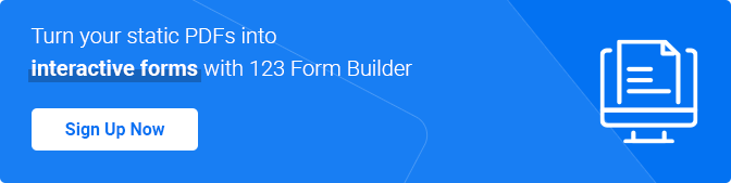 convert pdf documents to interactive online forms with 123 Form Builder