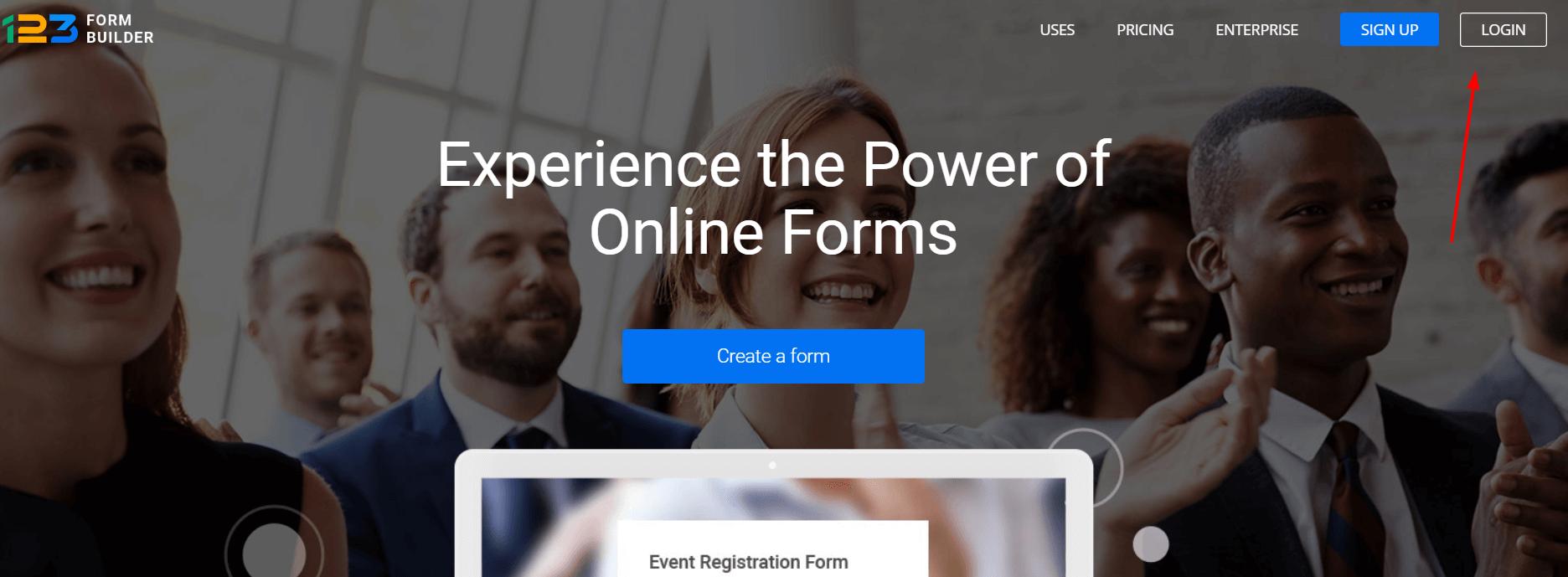 booking system builder login