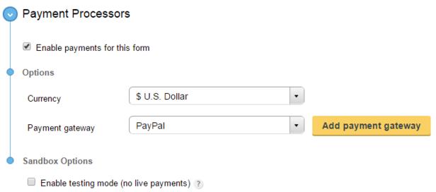 WordPress Donation Plugin - CaptainForm WordPress Form Builder Plugin