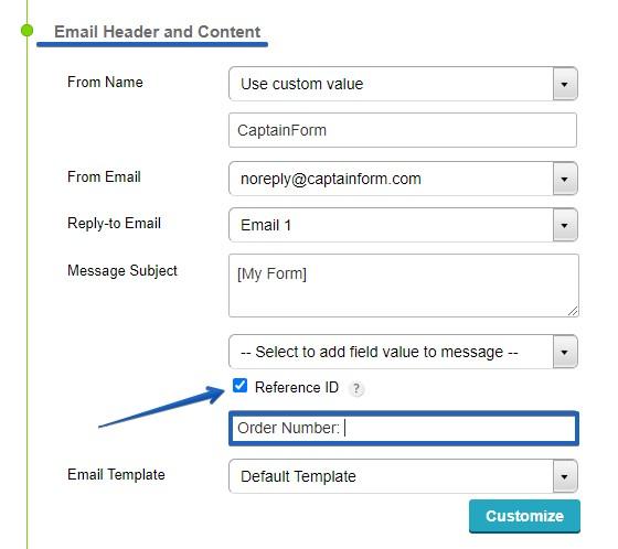 CaptainForm - web forms