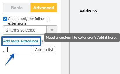 new file extensions CaptainForm