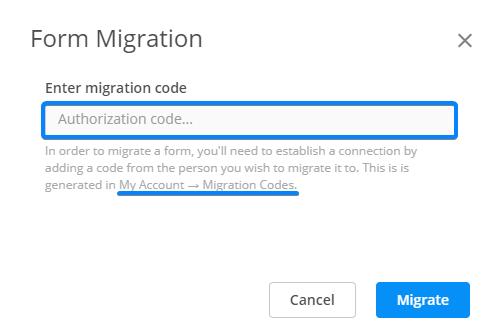 form migration Salesforce