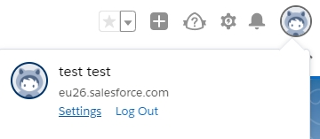 How to reset the SalesForce Authentification Token