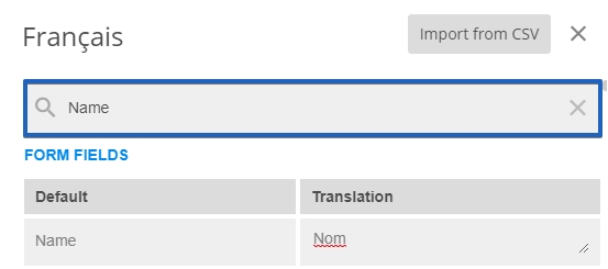 Multi-Language Web Forms