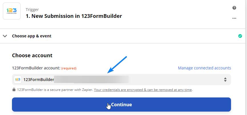 123FormBuilder account
