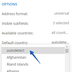 How to customize form address fields - 123FormBuilder
