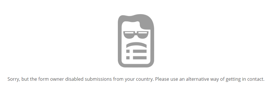 can't access form