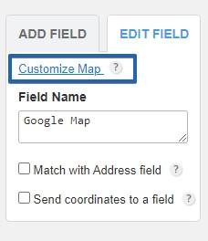 google maps captainform
