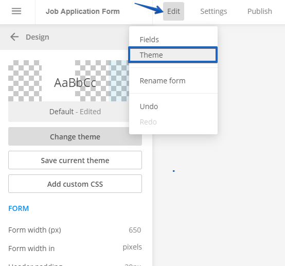 Change the font family for form inputs? |123FormBuilder Help