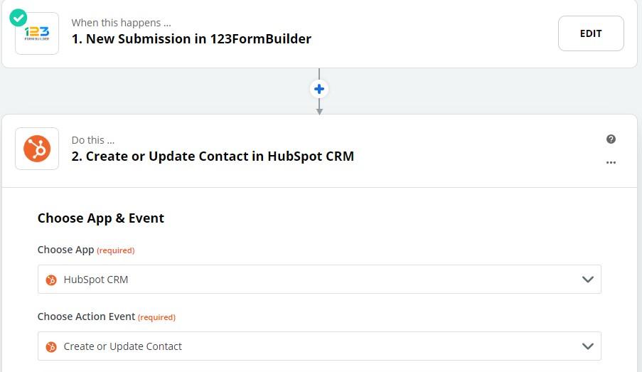 HubSpot 123FormBuilder