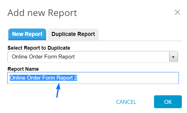 duplicate reports