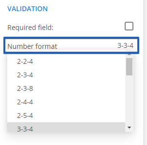 Custom Phone Field