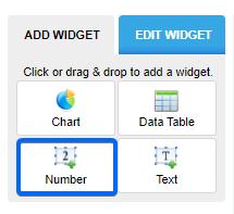 number widget