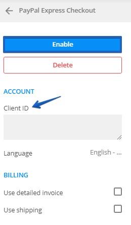 Web Forms PayPal Checkout