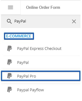 PayPal Payments Pro Integration