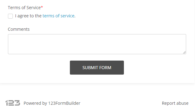 Backlink to 123FormBuilder