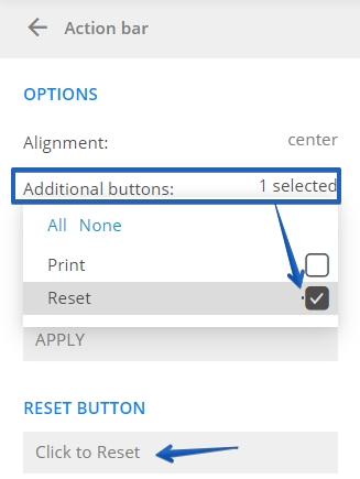 Reset Button 123FormBuilder