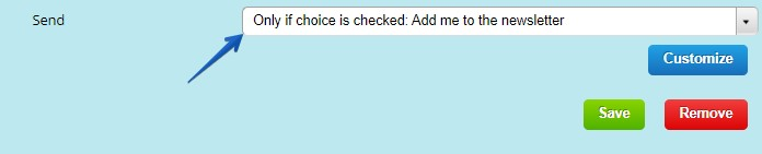 Opt In Checkbox