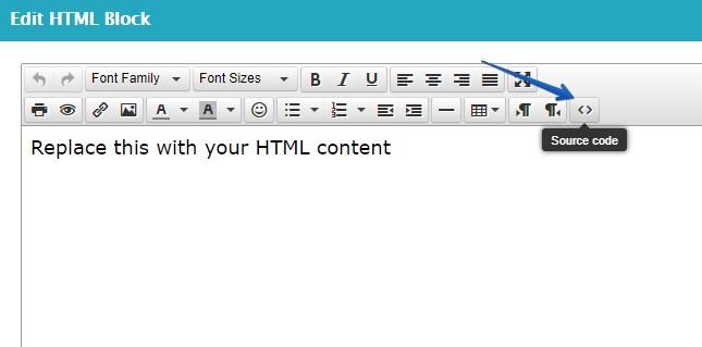 HTML Block Source Code