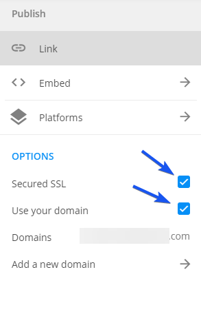 Domain + SSL procedure
