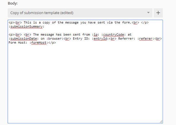 send notifications in HTML format