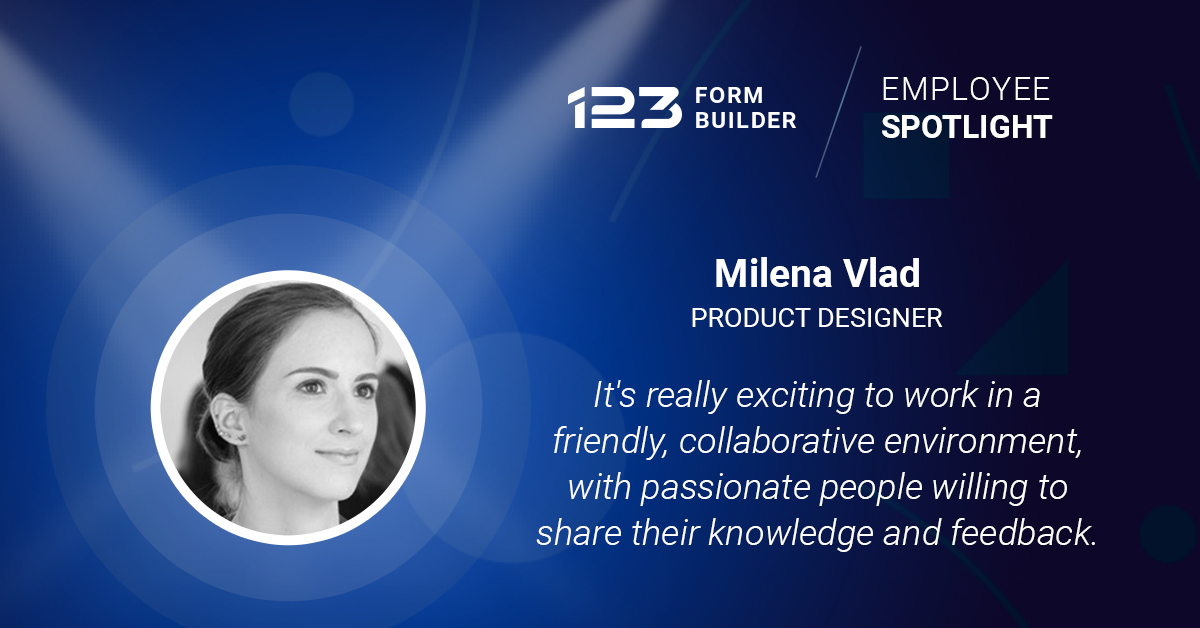 photo of milena vlad from 123 form builder