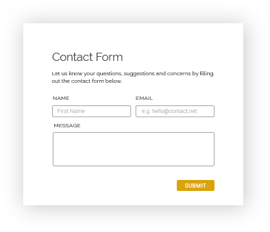 bigcommerce contact form integration